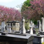 Der Friedhof Montparnasse in Paris